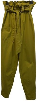 Green Cotton Mykke Hofmann Trousers