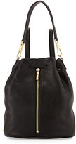 Elizabeth and James Cynnie Leather Sling Bag, Black