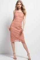 Jovani 50151 Lace Square Column Dress