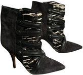 Isabel Marant Anthracite Leather Boots