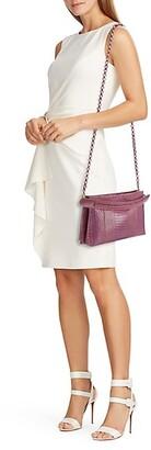 Nancy Gonzalez Viviana Snakeskin Top Handle Bag