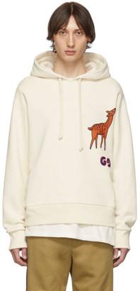 Gucci Off-White GG Deer Hoodie