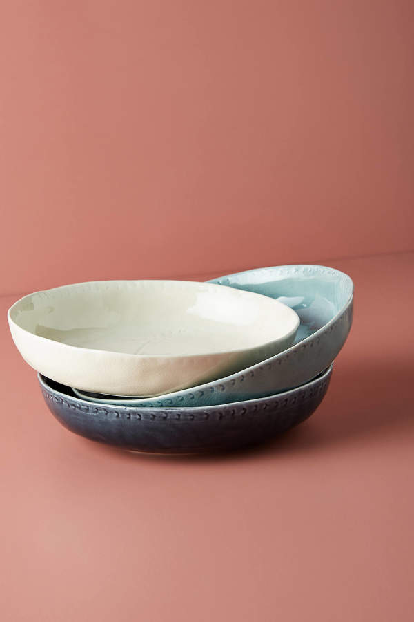 Lynah Bowl By Anthropologie in Blue Size BOWL