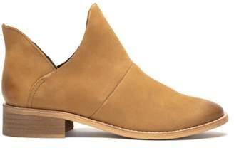 Crevo Britain Leather Split Shaft Bootie