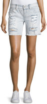 Miss Me Signature Distressed Denim Shorts, LT 98