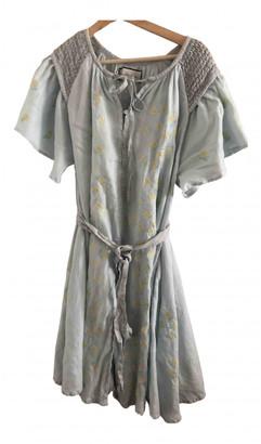 Innika Choo Blue Linen Dresses