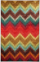 Mohawk Home Strata Painted Zig Zag Printed Rectangular Rugs