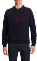 Burberry Logo Wool Sweater