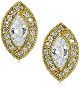 Giani Bernini 18k Gold-Plated Sterling Silver Cubic Zirconia Stud Earrings, Created for Macy's