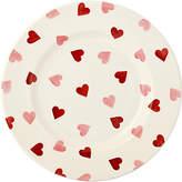 Emma Bridgewater Pink Hearts 8.5 Plate, White/Pink, Dia.22.1cm