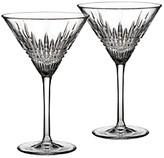 Waterford Lismore Diamond Martini Glass, Set of 2