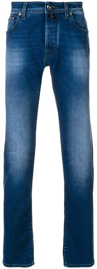 Jacob Cohen washed effect jeans