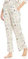 Sleep Sense Coffee-Print Sleep Pants