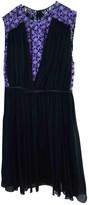 Giambattista Valli Purple Silk Dress for Women