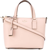 Kate Spade double strap tote - women - Calf Leather/Polyester - One Size
