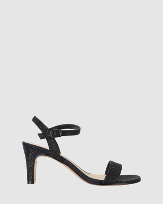 Easy Steps - Women's Black Open Toe Heels - Unison - Size One Size, 7 at The Iconic