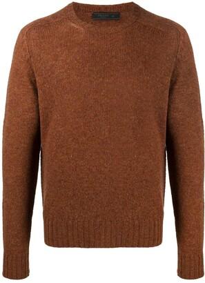 Prada Shetland raglan jumper