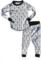 Rowdy Sprout Baby Boy's AC/DC Thermal Set