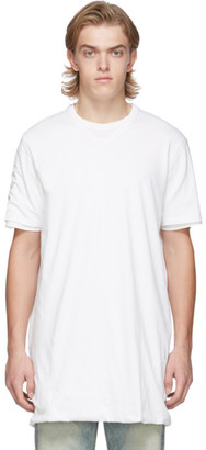 Our Legacy White Mirror Logo Conjoined T-Shirt