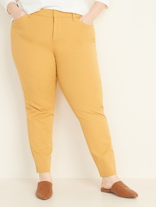 Old Navy High-Waisted Secret-Slim Pockets Plus-Size Pixie Pants