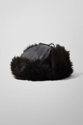 Weekday Muzzy Trapper Hat - Black