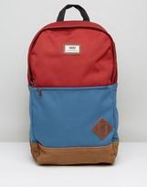 Vans Van Doren III Backpack In Red