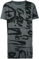 Diesel front print T-shirt