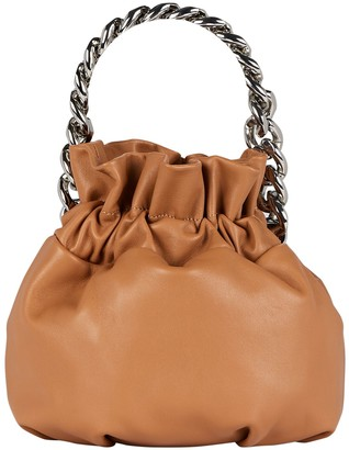 STAUD Grace Chain-Link Pouch Bag