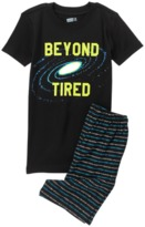 Crazy 8 Beyond Tired 2-Piece Shortie Pajama Set