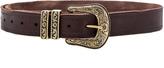 Linea Pelle Vintage Double Keeper Hip Belt