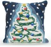 Liora Manné Frontporch Christmas Tree Indoor Outdoor Throw Pillow
