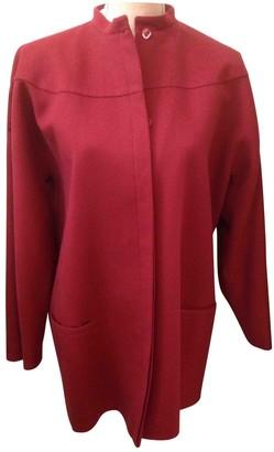 Genny Burgundy Wool Jacket for Women