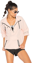 Ivy Park Button Up Hoodie in Pink