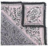 Versace baroque pattern print scarf