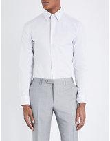 Armani Collezioni Modern-fit Cotton Shirt