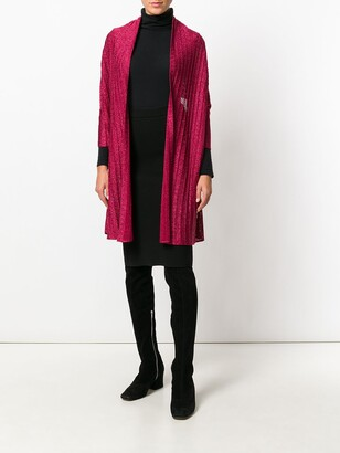 John Galliano Pre-Owned Lured Knitted Cardigan