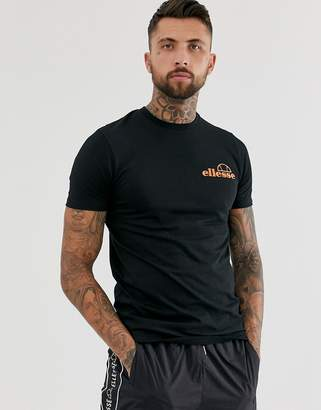 Ellesse Fondato t-shirt with back print in black