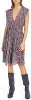 Isabel Marant Print Silk Dress