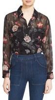 Equipment Women's 'Signature' Floral Print Silk Shirt