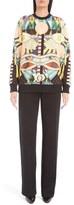 Givenchy 'Crazy Cleopatra' Print Cotton Sweatshirt