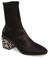 Badgley Mischka Women's Martine Statement Heel Sock Bootie