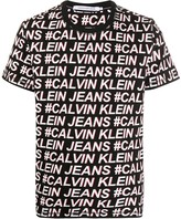 Calvin Klein Jeans all-over logo print T-shirt