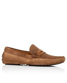 HUGO BOSS Driver Moccasin Suede