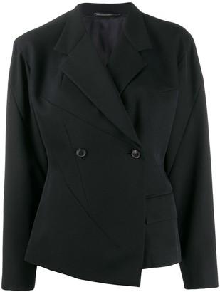 Yohji Yamamoto Pre-Owned boxy double-breasted jacket