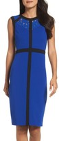 Gabby Skye Women's Colorblock Body-Con Dress