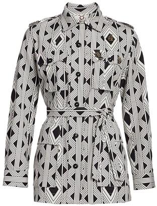 Figue Bohemian Rhapsody Safari Twill Printed Jacket