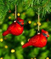 Southern Living Nostalgic Noel Collection Cardinal 2-Piece Ornament Set