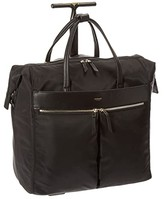 Knomo London London Mayfair Sedley Boarding Tote (Black) Tote Handbags