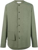 Marni pocket detail shirt - men - Cotton - 48