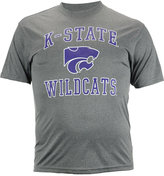 Colosseum Men's Short-Sleeve Kansas State Wildcats Ghost Poly T-Shirt